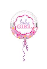 Baby girl folie ballon