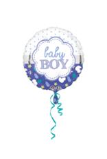 Baby boy folie ballon