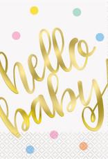 Hello baby servetten