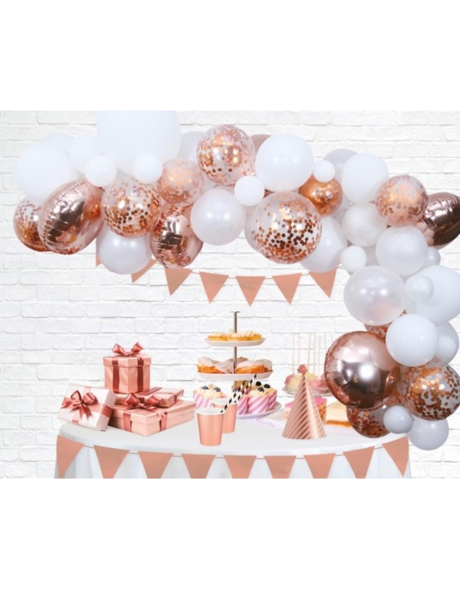 Ballonnenboog: Rosé goud
