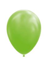 10x Lime groene ballonnen
