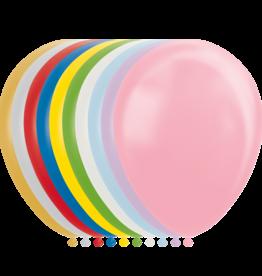 10x Mixed metallic/pearl ballonnen