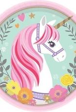 unicorn bordje 18cm