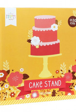 Cake plateau: Geel