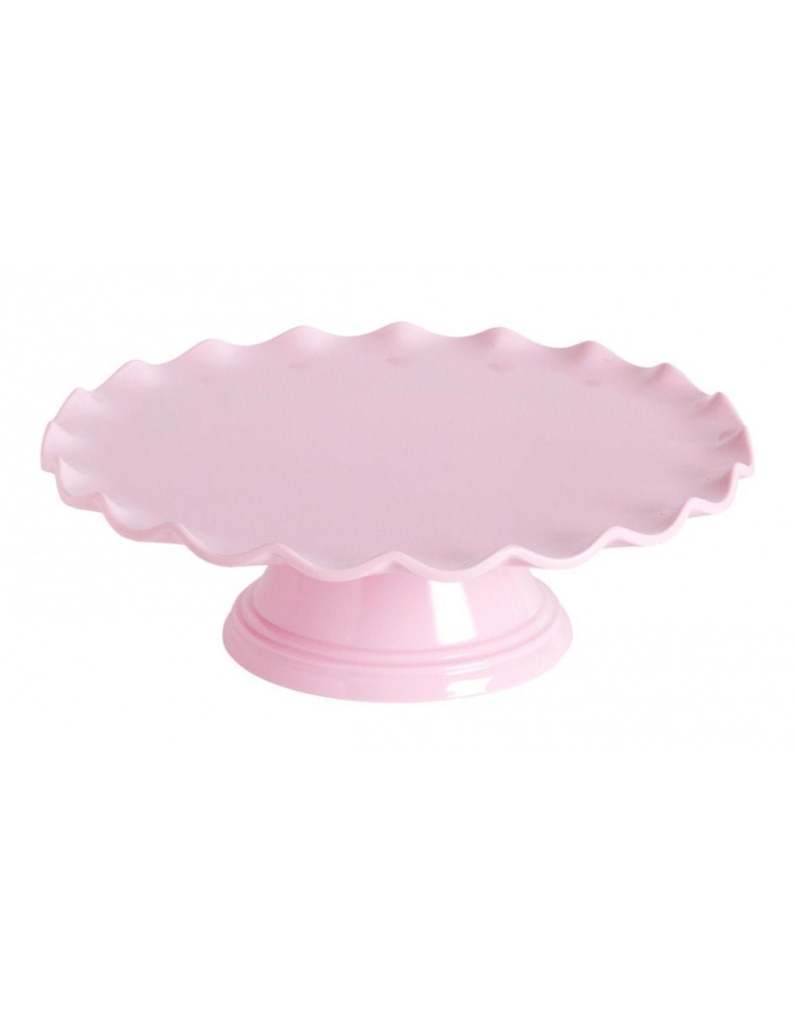Taartplateau roze