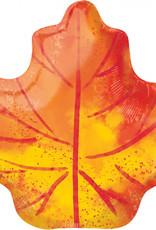 Folieballon herfstblad