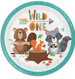 Wild one feestbord