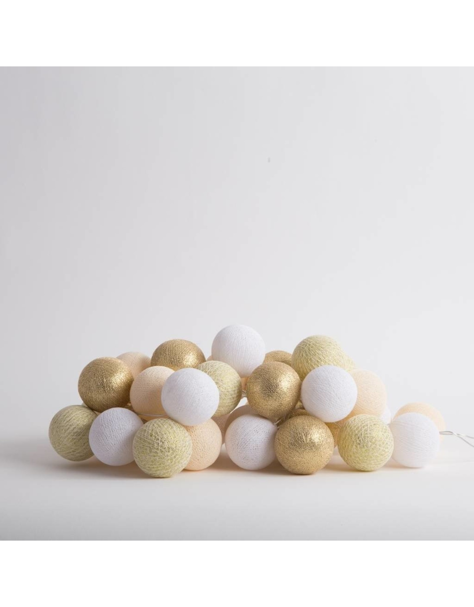 Cotton Ball Lichtslinger; Touch of gold 10x