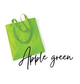 Blanc tas: Apple green