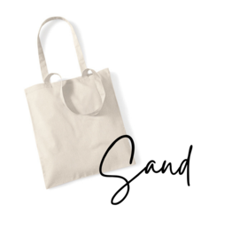 Blanco tas: Sand