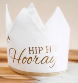Kroon hip hip hooray: Wit