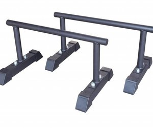Lifemaxx Crossmaxx® parallettes set (black)