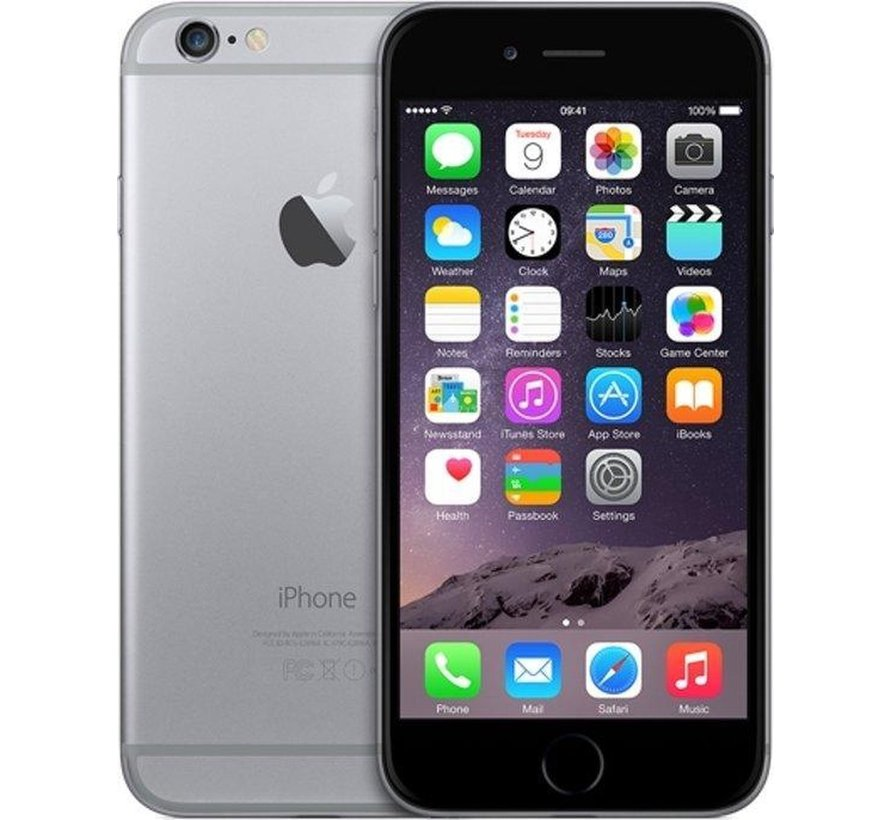 Refurbished iPhone 6 128GB Zwart