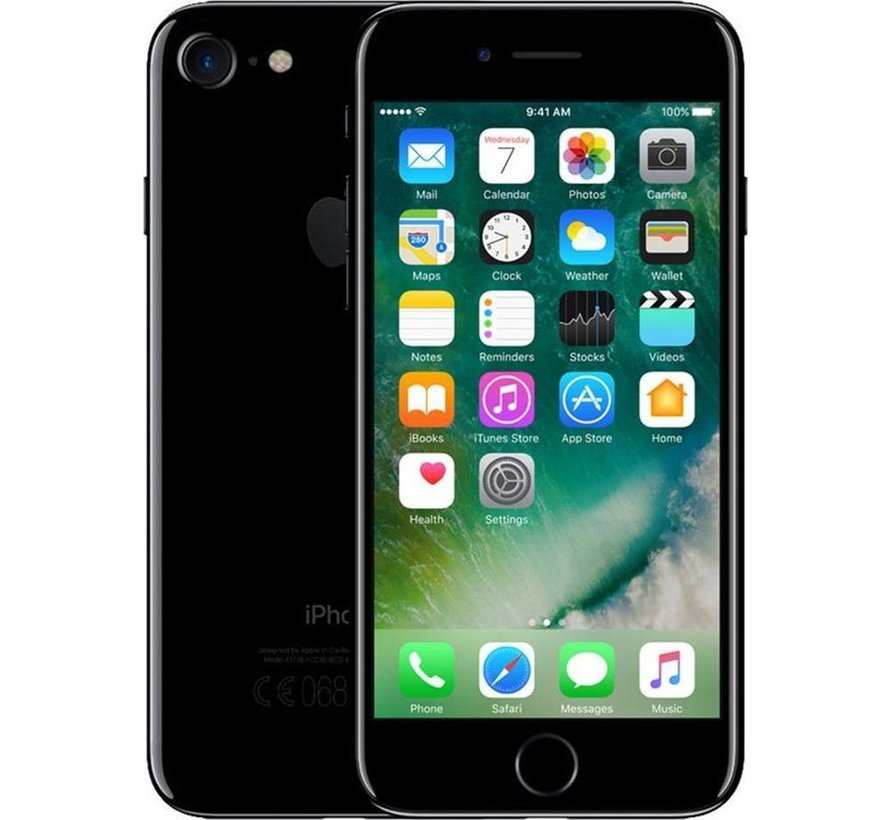 Refurbished iPhone 7 256GB Glanzend Zwart