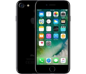 Apple Refurbished iPhone 7 128GB Glanzend Zwart