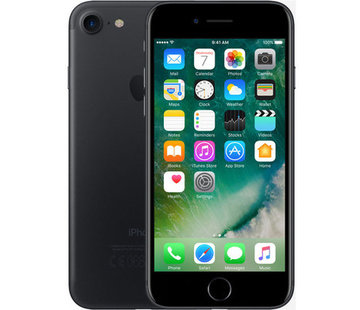 Apple Refurbished iPhone 7 128GB Mat Zwart