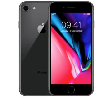 Apple Refurbished iPhone 8 64GB Zwart