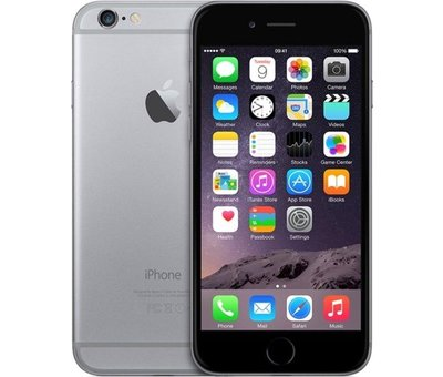 Apple Refurbished iPhone 6 64GB Zwart