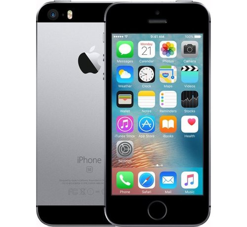 Apple Refurbished iPhone SE 16GB Zwart