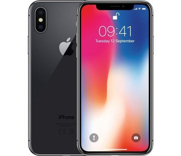 Apple Refurbished iPhone X 256GB Zwart