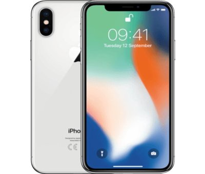 Apple Refurbished iPhone X 256GB Zilver