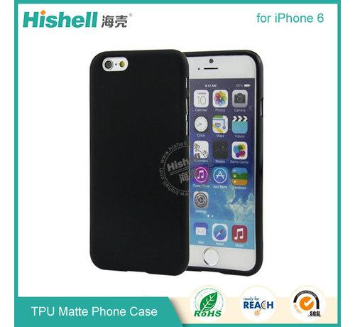 Hishell iPhone 6 Plus/6s Plus Mat Finisch Case zwart