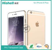 Hishell iPhone 6 Plus/6s Plus Mat Finisch Case transparant