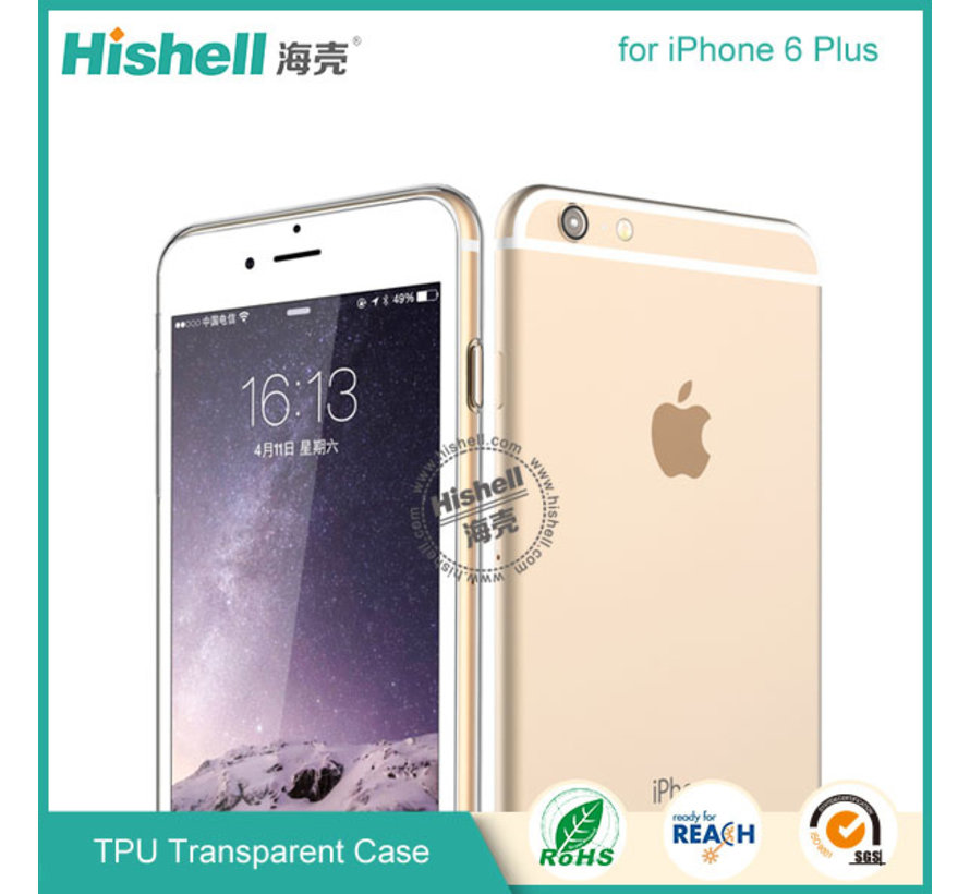 iPhone 6 Plus/6s Plus Mat Finisch Case transparant