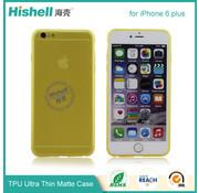 Hishell iPhone 6 Plus/6s Plus Mat Finisch Case groen
