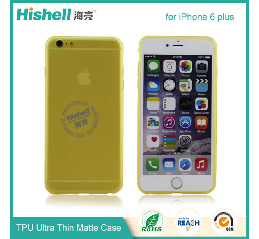 iPhone 6 Plus/6s Plus Mat Finisch Case groen