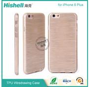 Hishell iPhone 6 Plus/6s Plus Mat Finisch Case goud