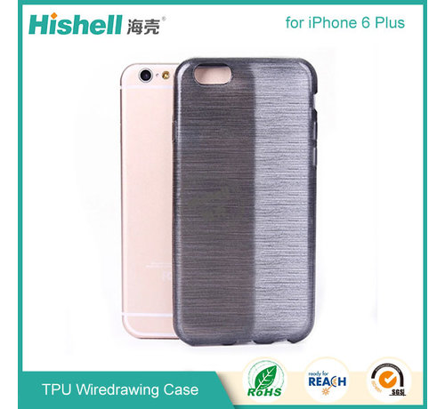 Hishell iPhone 6 Plus/6s Plus Mat Finisch Case grijs