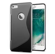 iPhone 7 Plus/ 8 Plus zwart S-Style hoesje