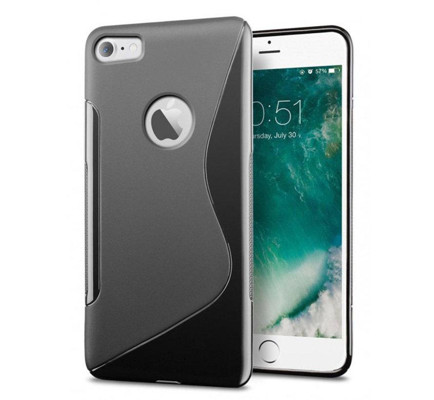 iPhone 7 Plus/ 8 Plus oranje S-Style hoesje