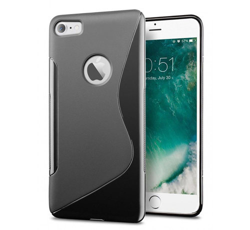 iPhone 7 Plus/ 8 Plus blauw S-Style hoesje