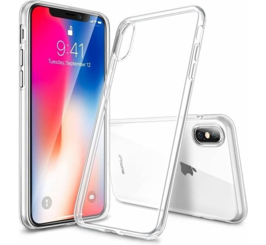 iPhone X / Xs Transparant S-Style hoesje
