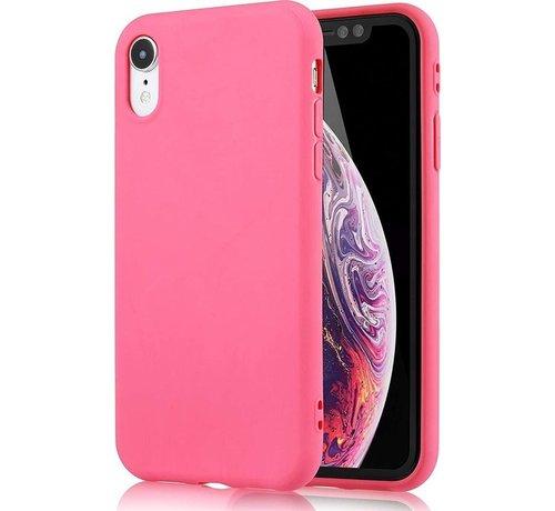 iPhone X / Xs roze hoesje