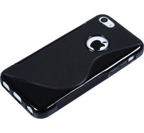 iPhone X / Xs S-Style zwart hoesje