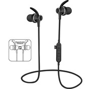Platinet Platinet Draadloze In-Ear Bluetooth oordopjes zwart