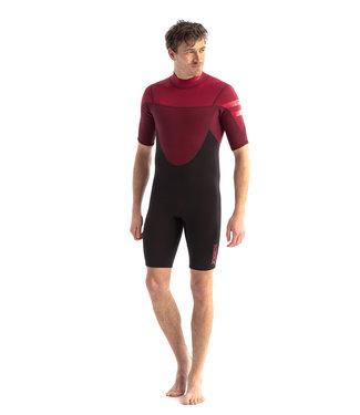 JOBE JOBE Shorty Wetsuit Heren Perth 3/2 Rood