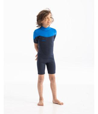 JOBE JOBE Shorty Wetsuit Kind Boston 2mm Blauw