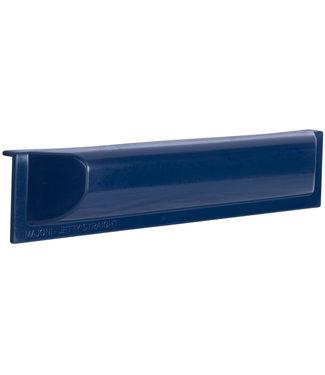 Steigerfender Jetty Recht 50 x 10 cm Donkerblauw