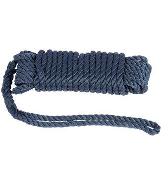 Landvast 10 mm 10 m 3-strengs Donkerblauw