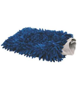 BTC Line Blue Microvezel Washandschoen