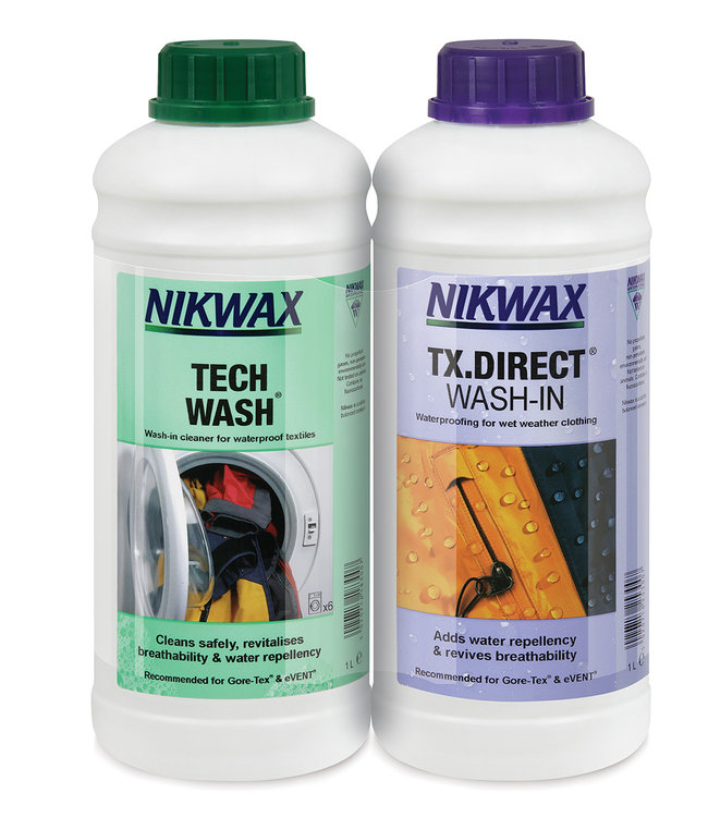 Nikwax Twinpack Tech Wash/TX Direct Wash In 1 liter