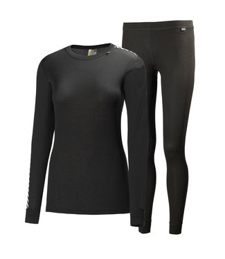 Helly Hansen Helly Hansen Thermo Set Dames Comfort Light Zwart