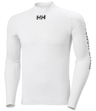 Helly Hansen Helly Hansen Lycra Shirt Lange Mouwen Heren Wit