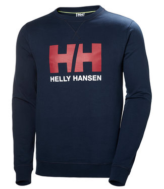 Helly Hansen Helly Hansen Trui Heren Logo Crew Donkerblauw