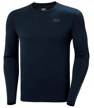 Helly Hansen Helly Hansen T-Shirt Heren Lifa Active Solen Lange Mouw Donkerblauw