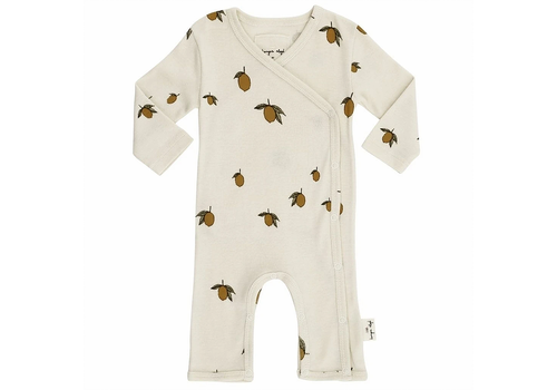 Konges Sløjd Konges Sløjd New Born Onesie - LEMON